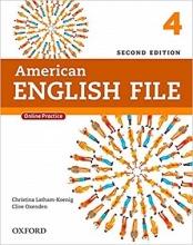 کتاب American English File 4 2nd SB+WB+DVD