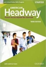 کتاب امریکن هدوی استارتر ویرایش سوم American Headway startet 3rd SB+WB+DVD