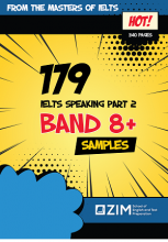 کتاب 179 IELTS Speaking Samples – band 8+
