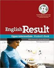 کتاب اموزشی انگلیش ریزالت آپر اینترمدیت  English Result Upper-intermediate Student Book