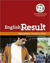 کتاب اموزشی انگلیش ریزالت المنتری English Result Elementary Student Book