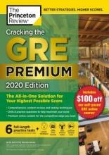 کتاب Cracking the GRE Premium Edition with 6 Practice Tests 2020