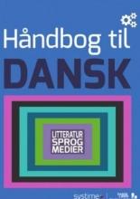 کتاب زبان دانمارکی (ادبیات . زبان . رسانه) Håndbog til Dansk: Litteratur, sprog, medier رنگی