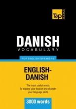کتاب واژگان زبان دانمارکی Danish vocabulary for English speakers : 3000 words