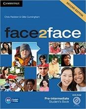 کتاب فیس تو فیس پری اینترمدیت ویرایش دوم Face 2 Face Pre-Intermediate 2nd+SB+WB+DVD