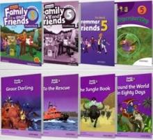 پکیج (رحلی) دوره کامل American Family and Friends 5 2nd edition