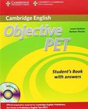 کتاب ابجکتیو پت ویرایش دوم  Objective PET students books 2nd Edition سیاه و سفید