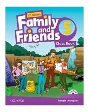 کتاب فمیلی اند فرندز 5 بیریتیش ویرایش دوم British Family and Friends 5 2nd SB+WB+DVD