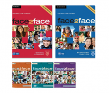 مجموعه 5 جلدی face2face Second Edition