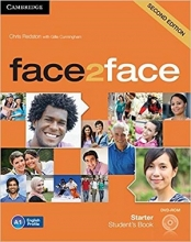 کتاب فیس تو فیس استارتر ویرایش دوم Face 2 Face Starter 2nd+SB+WB+DVD