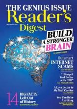 مجله ریدرز دایجست Readers Digest Build a stronger brain September 2020