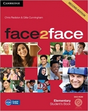 کتاب فیس تو فیس المنتری ویرایش دوم Face 2 Face Elementary 2nd+SB+WB+DVD
