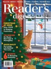 مجله ریدرز دایجست Readers Digest Christmas at home December 2020