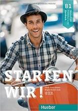 کتاب آلمانی اشتارتن ویر Starten wir B1: kursbuch und Arbeitsbuch mit CD HW چاپ اصلی زبانکده
