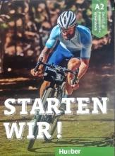 کتاب آلمانی اشتارتن ویر Starten wir! A2: kursbuch und Arbeitsbuch mit CD گلاسه