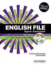 کتاب آموزشی انگلیش فایل بگینر ویرایش سوم English File Beginner Student Book 3rd